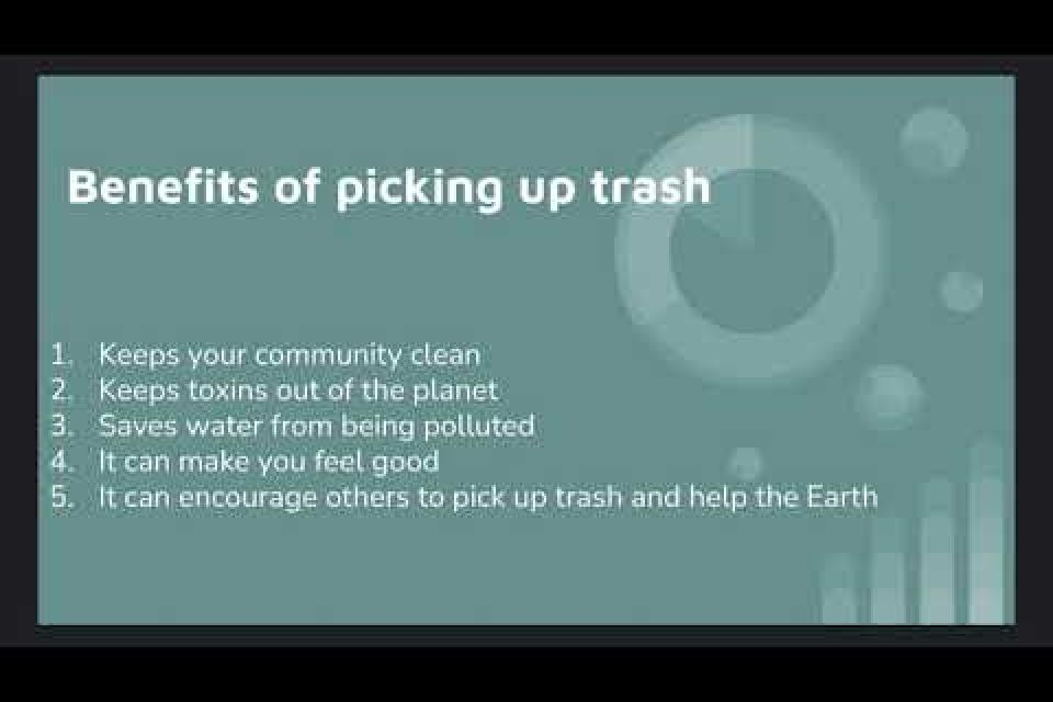 Pick Up Trash PSA